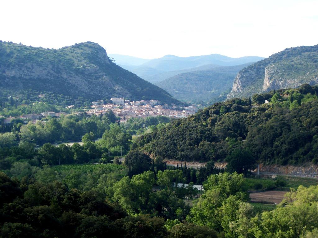 anduze vue du chateau de Tornac
