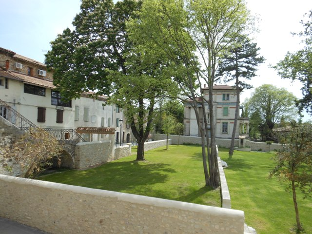 Parc du chateau de Lézan