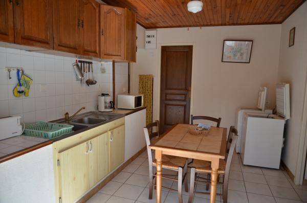 cuisine du gîte le romarin à lézan dans le Gard