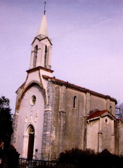 Eglise de Lézan