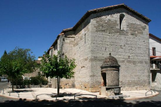 Temple et son puits