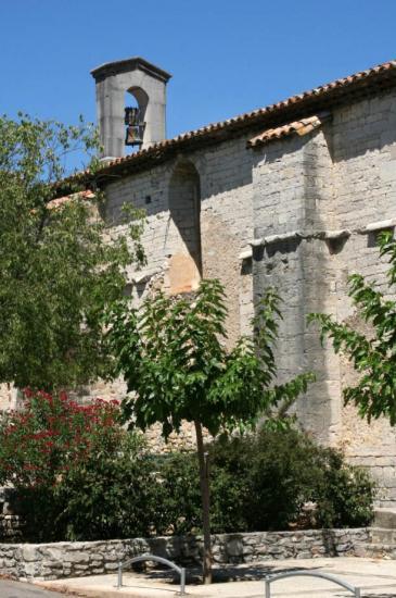 Temple coté Sud