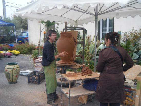 Potier à Lézan