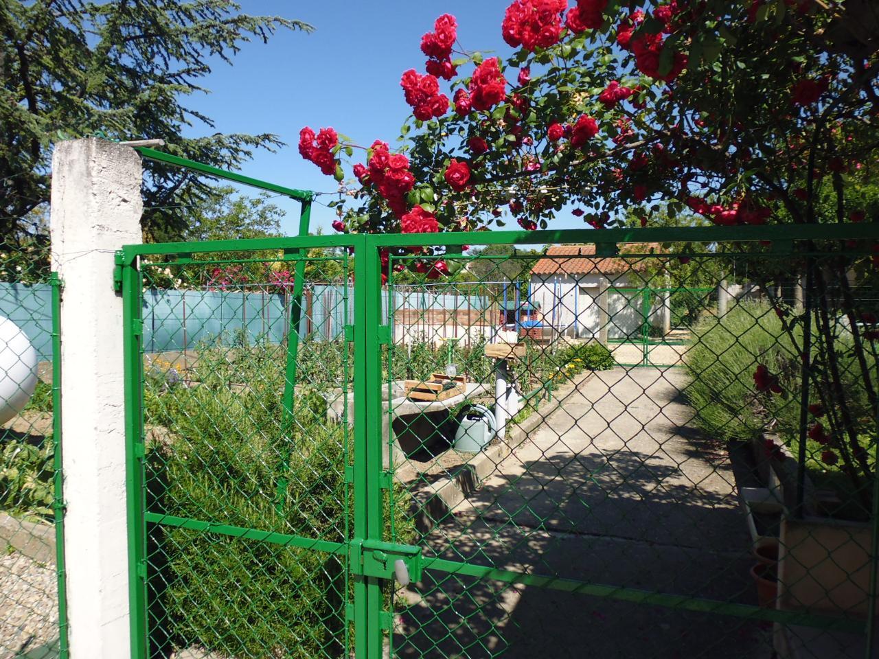 Jardin aux gites à Lézan Gard aux portes d'Anduze