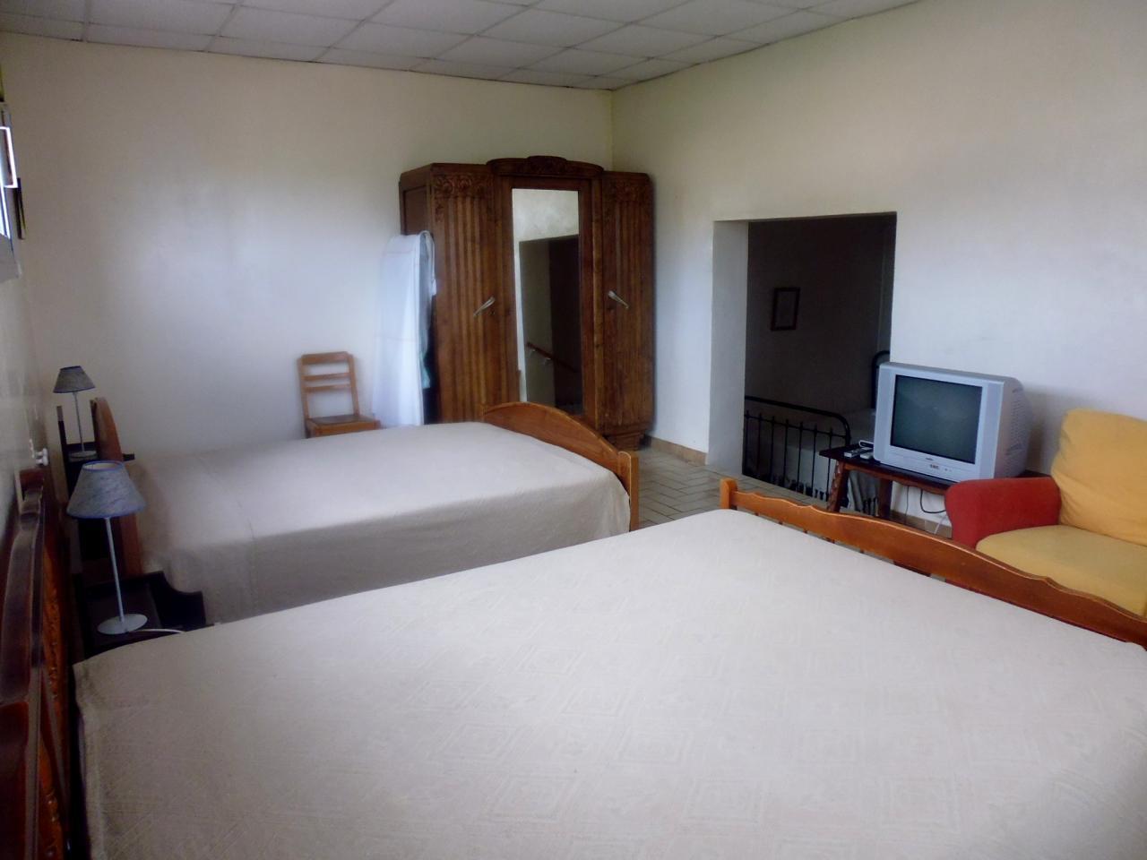 chambre double 25 m2 la pivoine
