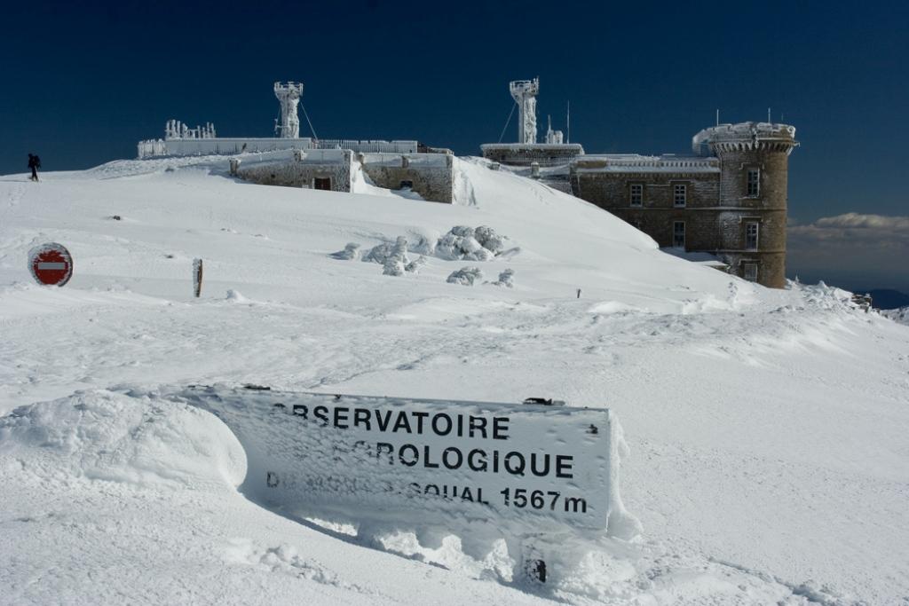 Station météorologique du mont aïgoual 1567 mètres