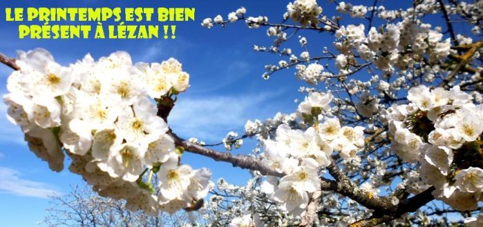 le printemps est bien à Lézan