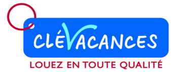 Logo clevacances avec base line fond transparent copie